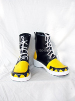 Anime SOUL EATER Female Male Ankle Boot High Heeled Cosplay Boots Cosplay Shoes Halloween Free Shipping