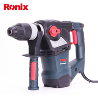 Ronix 26mm Power Tool 1600w Corded Electric Hammer Rotary Hammer Drill Model 2704