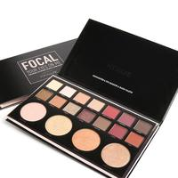 FOCALLURE Multifunction Matte Eyeshadow Palette Make Up Highlighters Brighten Face Cosmetics Make Up Eye Shadow Powder