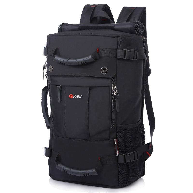 Image 4 - KAKA Brand Stylish Waterproof Large Capacity Backpack Male  Luggage Travel Shoulder Bag Computer Backpack Men Multifunctional  Baglarge capacity backpackbackpack brandbackpack male