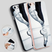Ballerina Ballet Slippers Shoes Dancer Case for iPhone X 5 S 6 6S 7 8 Plus a1a4fe4589e8