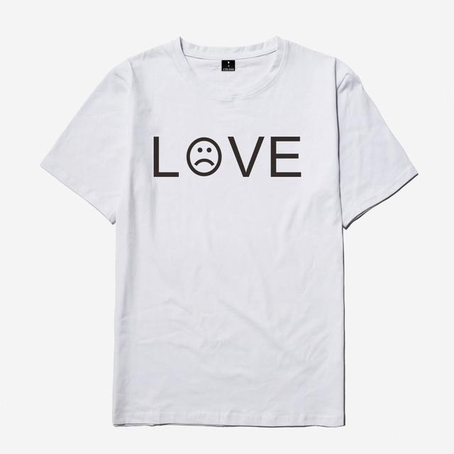 SMZY Lil Peep Tshirt Men Short Sleeve United States Popular Hip Hop T-shirt Men Cotton Fashion Great Rap Singer Mens Tee Shirts