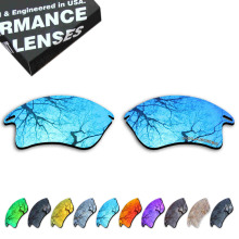 ToughAsNails Resist Seawater Corrosion Polarized Replacement Lens for Oakley Fast Jacket XL Sunglasses - Multiple Options