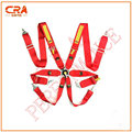CRA Performance-SA FIA Approval 3 inch 6 point Quick Release Red Racing Safety Belts/Seatbelts/Harness