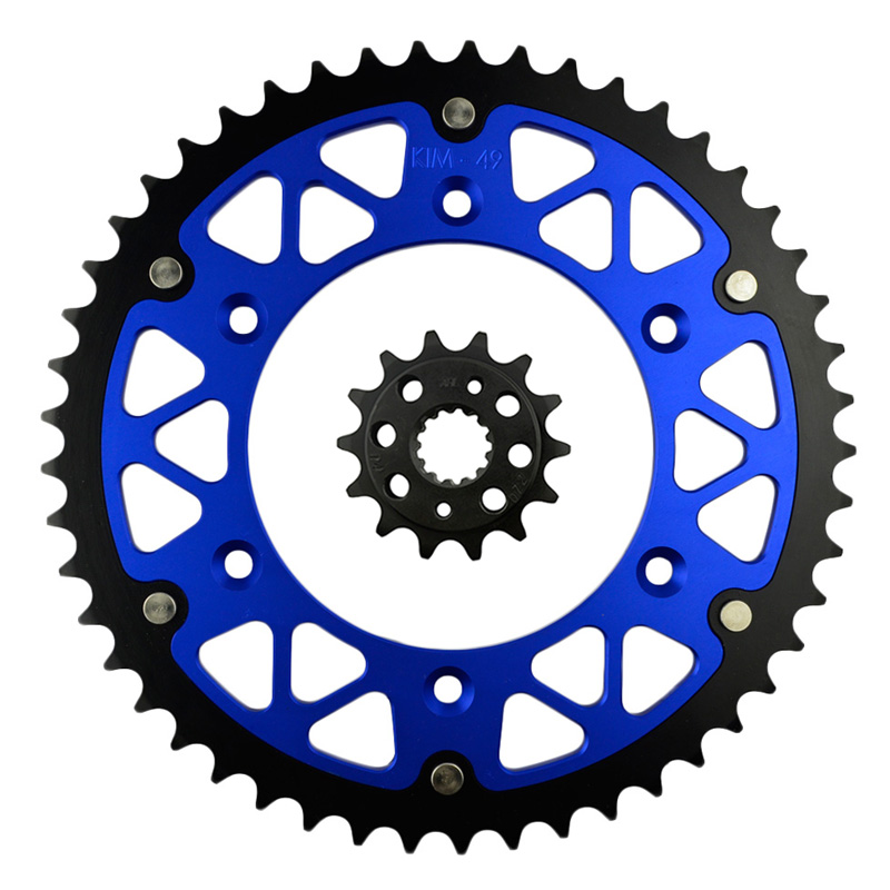 ФОТО High Performance Motorcycle 14T Front & 49T Rear Sprocket Kit Sit For HONDA XR 600 R 1991-2000