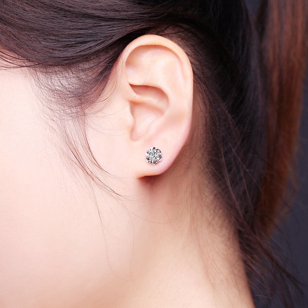my ct earrings white product flower stud tw timeless diamond carat gold