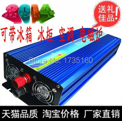 2500w High quality solar power inverter pure sine wave off grid hybrid single phase inverter 48vdc to 110v220vac 2500watt