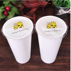 2018 di plastica/tazza di carta pellicola di tenuta, bubble tea/tè al latte/caffè pellicola di tenuta, tazze di tenuta pellicola per tazza di tenuta della macchina