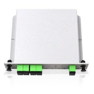 Image 4 - PLC 1X4 PLC Splitter Fiber Optical Box  PLC Splitter box FTTH PLC Splitter with SC/APC connector