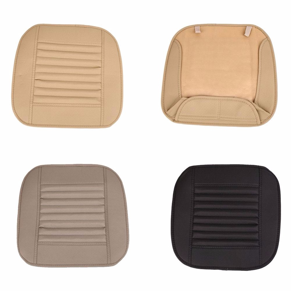 High Quality PU Soft Car Auto Seat Chair Cover Pads Cushion Protection Mat Comfort Auto Supplies Car Accessory Universal 3 Color