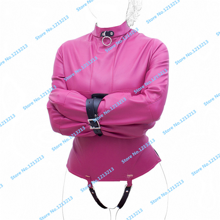 ФОТО Sex Bondage Max Security Straitjacket With Crotch Strap Fetish Sex Toys For Couples Adult Games Female Jacket Training Costume