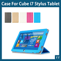 "for Cube i7 Stylus case pu Leather Case Smart Stand Cover Folding PU Case For Cube i7 Stylus iwork11 Stylus 10.6""tablet+gifts"