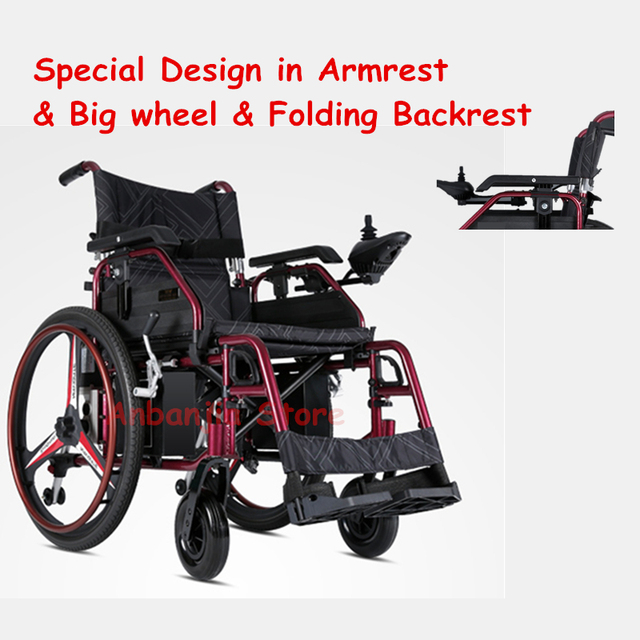 Good quality Big wheel electric wheelchair with cheap price rehabilitation therapy for travel,outdoor : big electric wheelchair - Cheerinfomania.Com