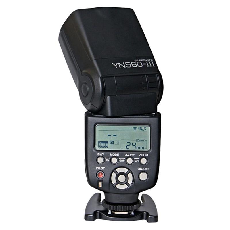 Yongnuo YN560 III  Wireless Flash Speedlite Flashlight for Canon 1200d 700d 5d 600d 5d2 5d3 Nikon DSLR Camera yongnuo yn560 iii yn 560 iii yn560iii universal wireless flash speedlite for canon nikon pentax panasonic olympus vs jy 680a