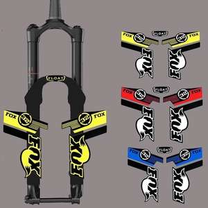 FOX Reflective Sticker For Cycling Race 32 MTB Mountain Bike Front Fork 6f45d6a52