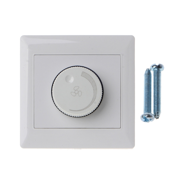 220v 10a Adjustment Ceiling Fan Sd Control Switch Wall On Dimmer