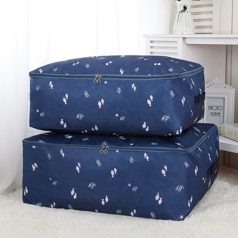 Breathable Thin Oxford Clothes Storage Bag M L XL XXL Luggage Bags Home Bedding Quilt Duvet