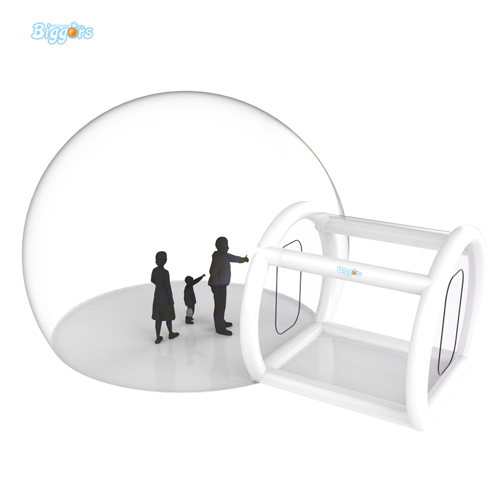 купить Giant Outdoor Single Tunel Customized Size Inflatable Bubble Tent Transparent Tent For Camping