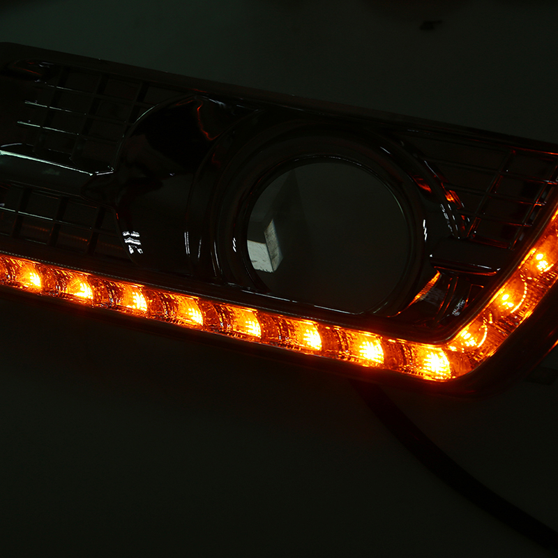 US $111 92 35% OFF POSSBAY DRL LED Daytime Running Light for Cadillac SRX  II 2010 2011 2012 2013 2014 2015 2016 Fog Lights Signal Lamps Daylights-in