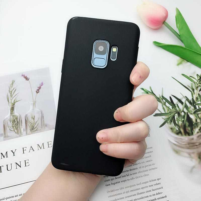 Matte Candy Color Soft TPU Case For Samsung A5 A7 J3 J5 J7 2017 2016 A8 A6 Plus 2018 J4 J6 J8 2018 S6 S7 S8 S9 Plus Note 8 Cover