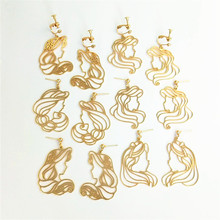 2019 ladies fashion statement earrings for wedding party Christmas gift pendant ms