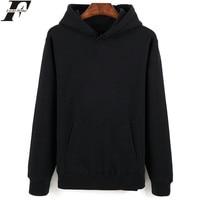 Hot Sale Long Sleeve Sweatshirt Men S Hooded Black Fashion New Brand Sweatshirt Men Hoodies Solid