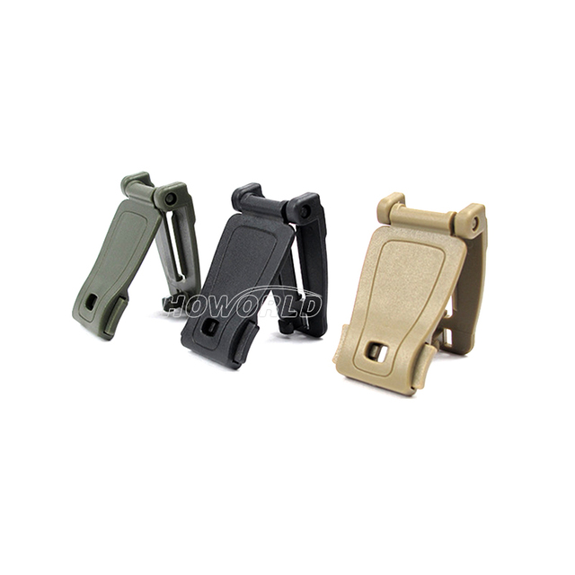 10 pcs / Molle System Webbing Backpack Fixed Strap Buckle Clip