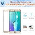 3D полное покрытие из закаленного стекла для Samsung Galaxy S6 Edge ультра тонкий 9 H твердость полный экран протектор фильм для S6 Край Плюс