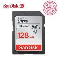 SanDisk Ultra SDXC SD Card Class10 16GB 32GB 64GB 128GB Memory Card C10 UHS I 80MB