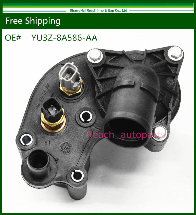 E2c Thermostat Housing W Sensors For 97 01 Ford Explorer