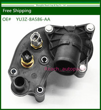 E2C термостат Корпус w/Датчики для 97-01 Ford Explorer Альпинист 4.0l V6 oe #: yu3z 8a586/yu3z-8a586-aa/902-204