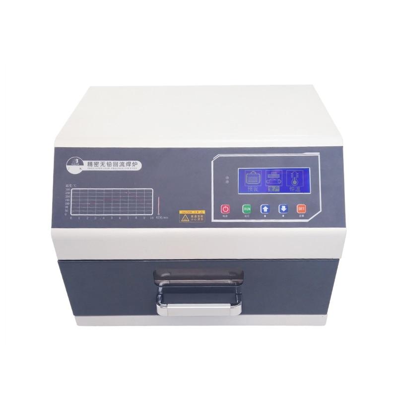 Infrared IC Heater T962 Digital Intelligent Reflow Soldering Oven for BGA SMD SMT Rework LY962D цена