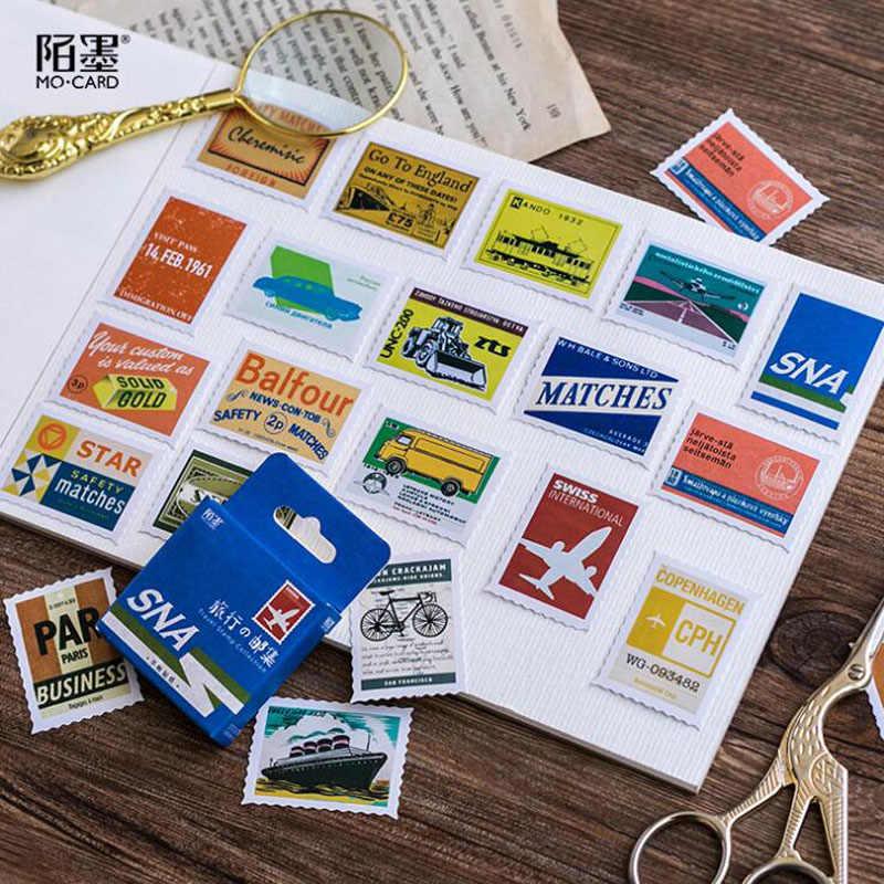 45pcs/set Kawaii Cherry Blossoms Sticker Creativa Journal Scrapbook Stickers Pattern School Supplies Travel Stationery Stickers