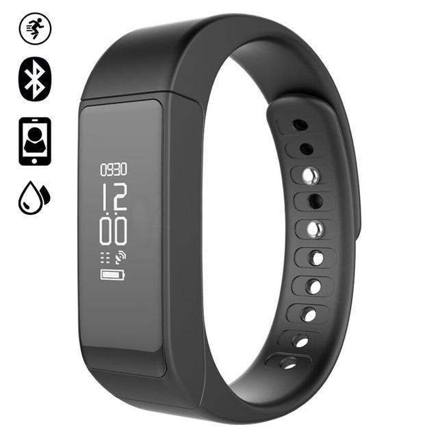 I5 Plus Band  IP65  Bluetooth 4.0 smart band Smart Bracelet sleeping Monitor Wristband Activity Fitness Tracker vs mi band 2