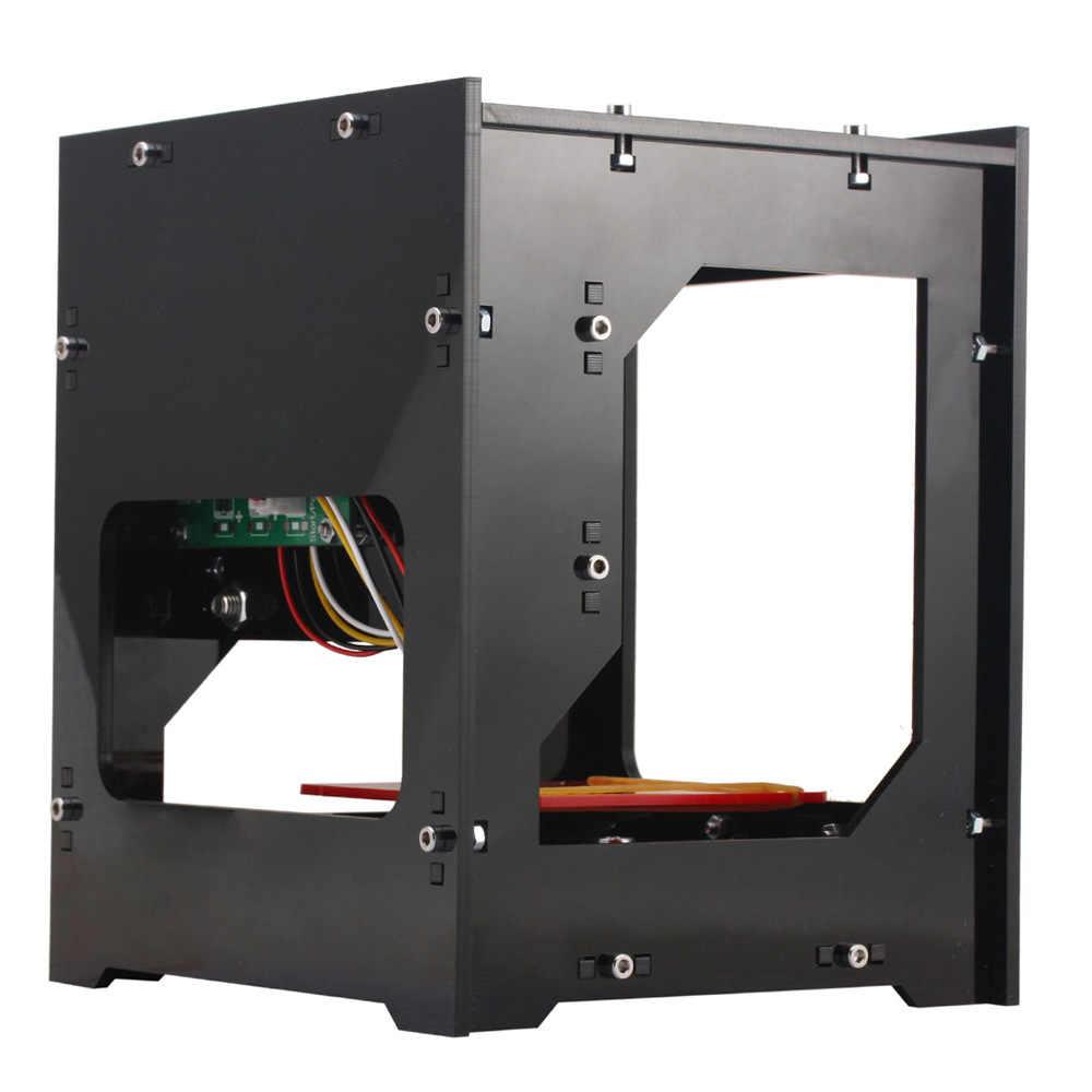 מיני USB לייזר חרט DIY הדפסת חריטת מכונת DK-8-KZ 1000 mw Off-קו פעולה + 1000 mw 405nm ויולט אור לייזר ראש