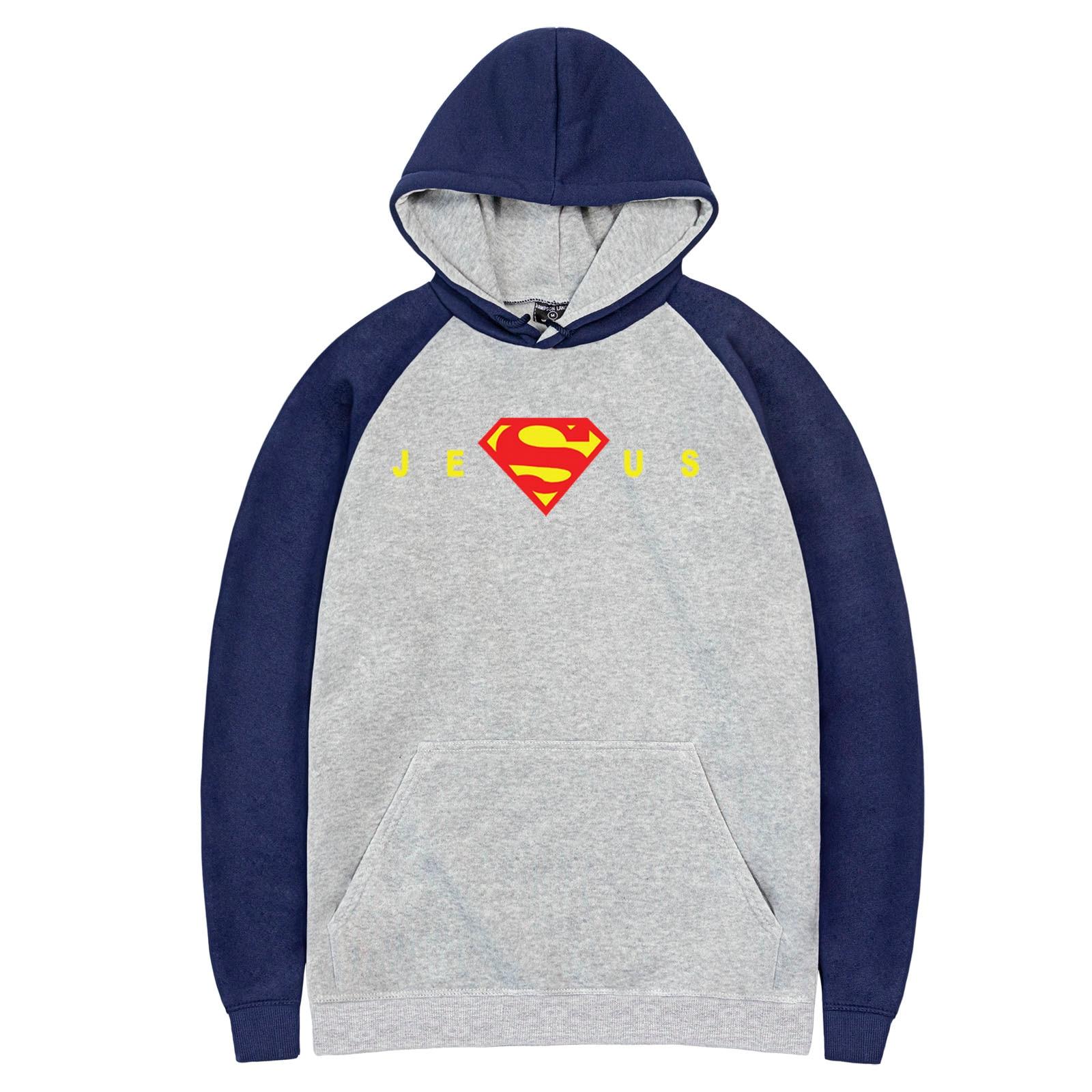 JESUE Supreman Spring Autumn New Arrival Pullover Casual Fleece Warm Raglan Hoodies Hot Selling Man Hoodie Hip Hop Sweatshirts