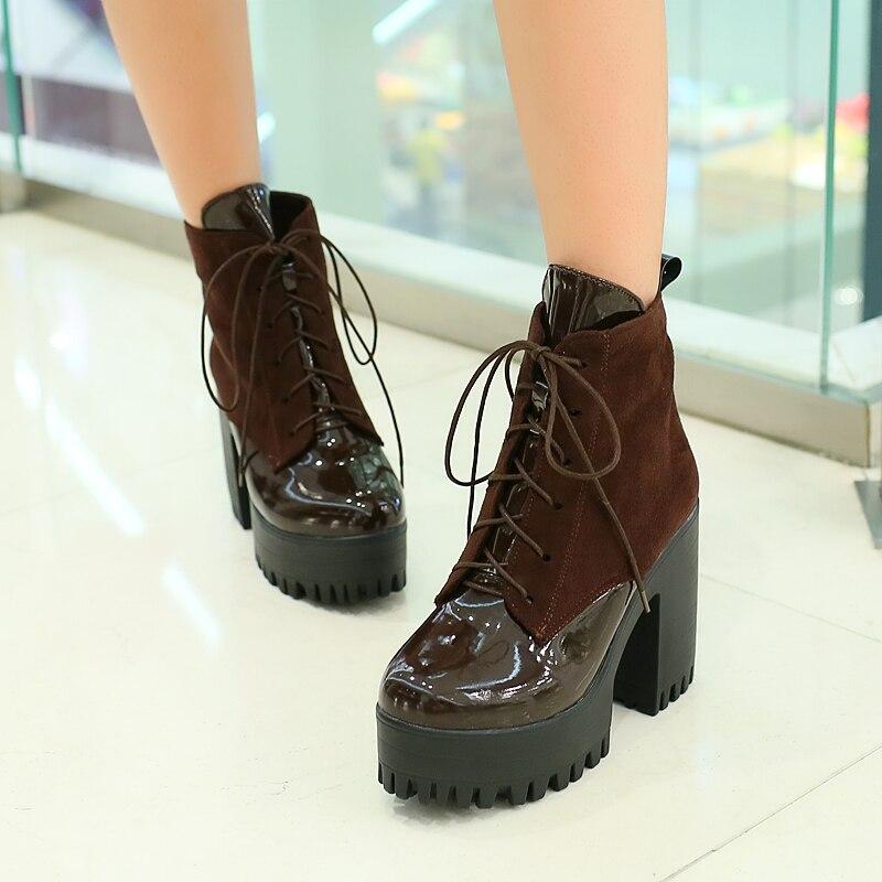 Aliexpress.com : Buy Autumn shoes woman high heels thick heel ...