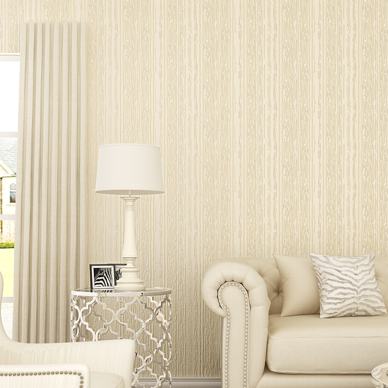 Modern Solid Color Wallpaper Roll Natural Fiber Wall Paper Texture 3d  Embossed Non-woven Wallpapers for Walls papel de parede living room bedroom wallpaper roll modern solid color non woven thin vertical stripe wall paper mural for walls papel de parede