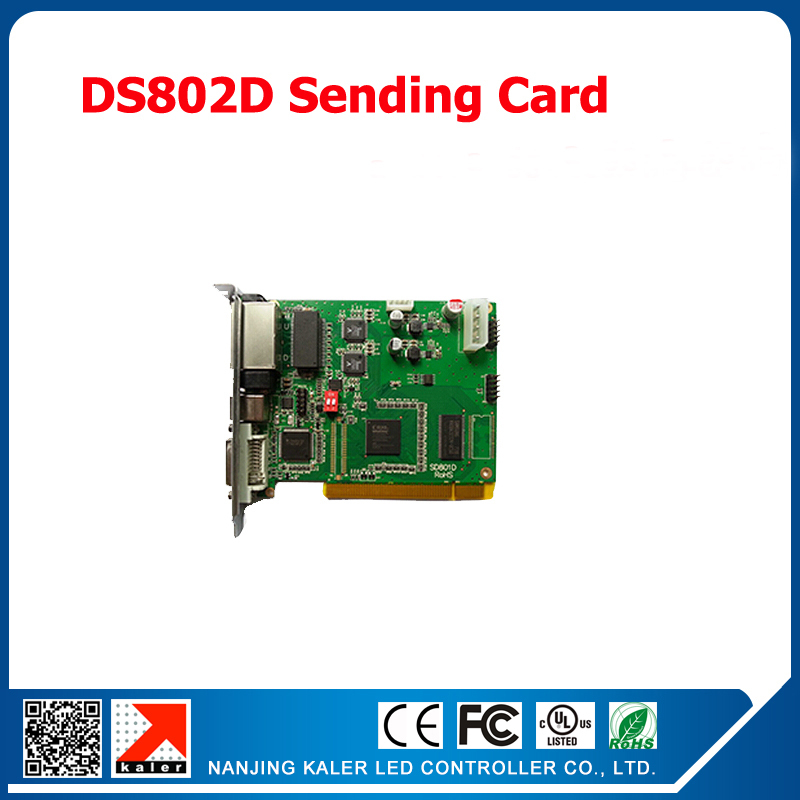 Free shipping LINSN scrolling LED dual color display sending card DS802 led display control board controller system DS802DFree shipping LINSN scrolling LED dual color display sending card DS802 led display control board controller system DS802D