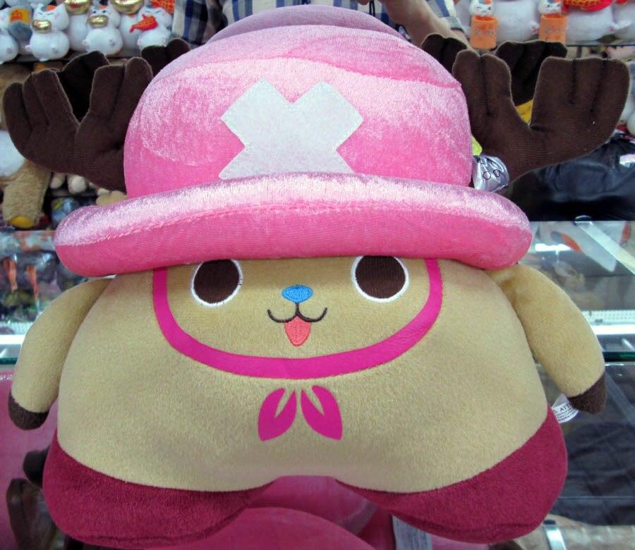 New arrival One Piece Tony Tony Chopper Cute Anime Plush Doll Toys 3 pcs set Approximately