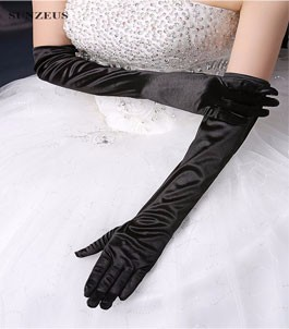bridal gloves 8