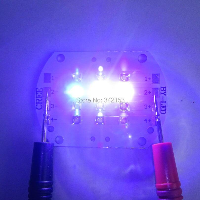 Светильник Topled на заказ 4 канала Cree XPE XP-E+ Epileds светодиодный излучатель светильник 9 в 350-600mA 420NM 450NM 6000K светодиодный светильник