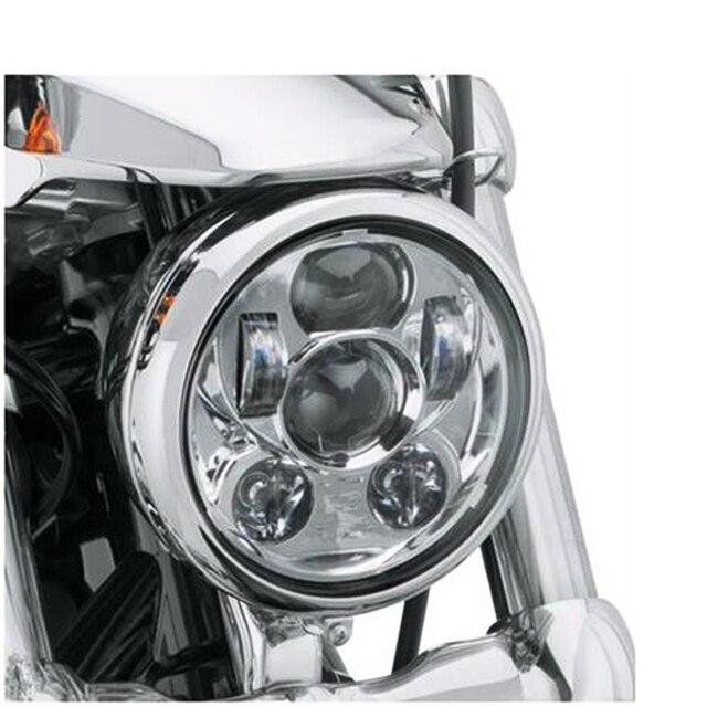 "Для harley Softail, Dyna И Sportster, 5.75 ""дюймовый 30 Вт светодиодные фары мотоцикла для Harleys-Давидс Daymakers СВЕТОДИОДНЫЕ Фары"