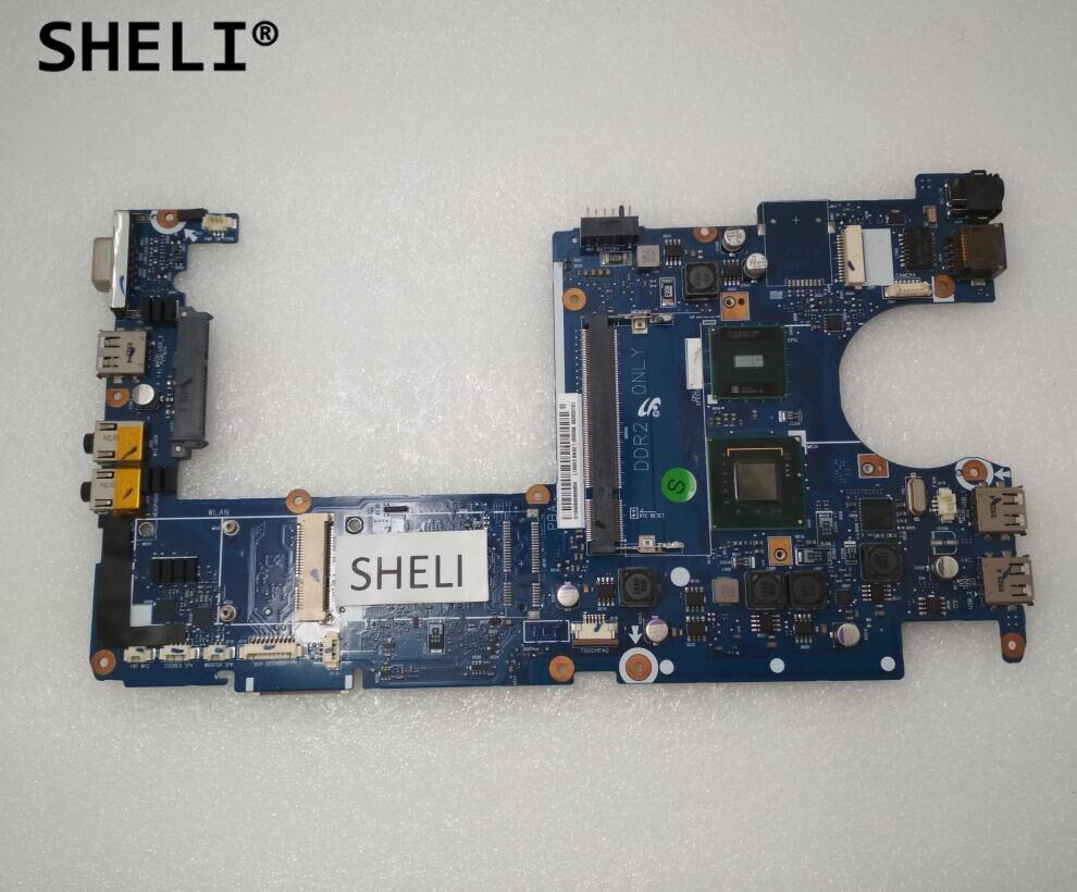 SHELI BA92-05555B L100H2 For Samsung NP-N120 N120 Motherboard With N270 CPU