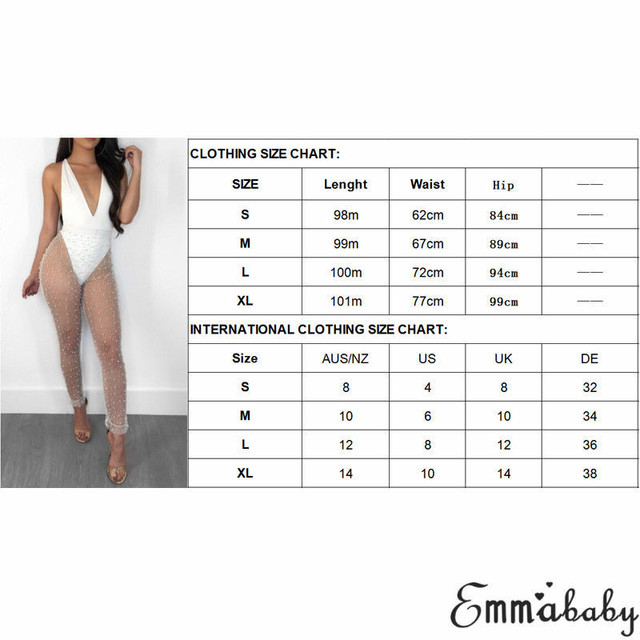 New 2018 Sexy Womens Pencil Pants Fashion Lady See Through Trousers Sexy Mesh High Waist Pearls Patchwork Transparent Trousers