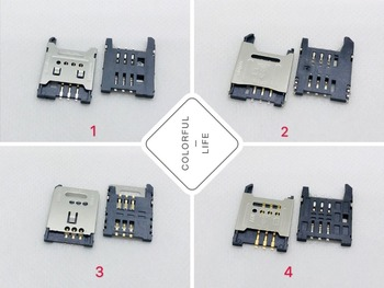 Big SIM Card Flip 6PIN Old Machine Bar Slider Little Smart Motherboard Socket Connector Slot Tray Part LCN FPC FFC PCB Holder image