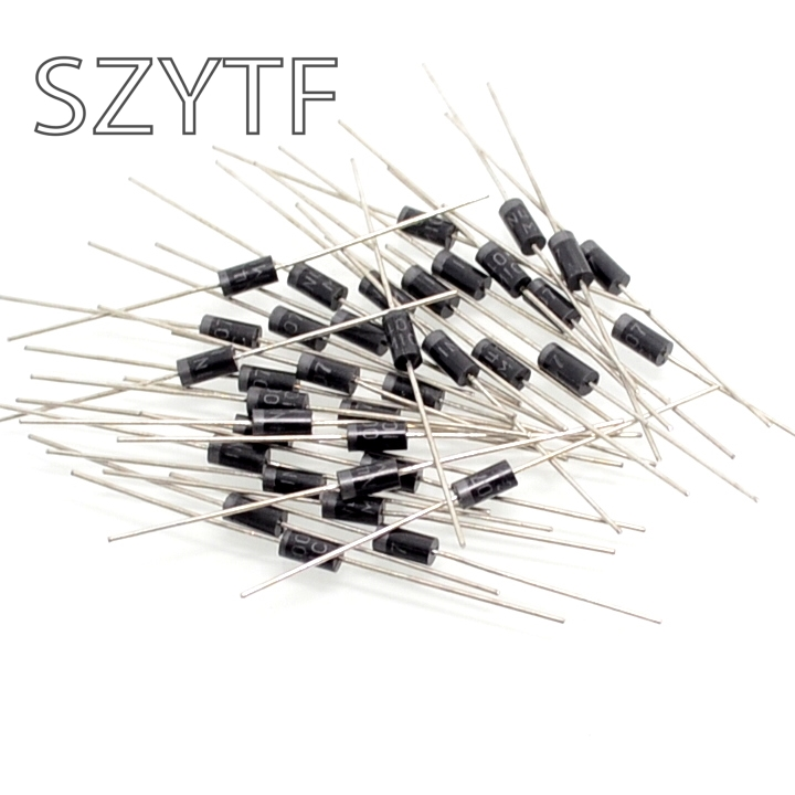 1000pcs/bag <font><b>1N4007</b></font> rectifier <font><b>diode</b></font> 1A 1200v image