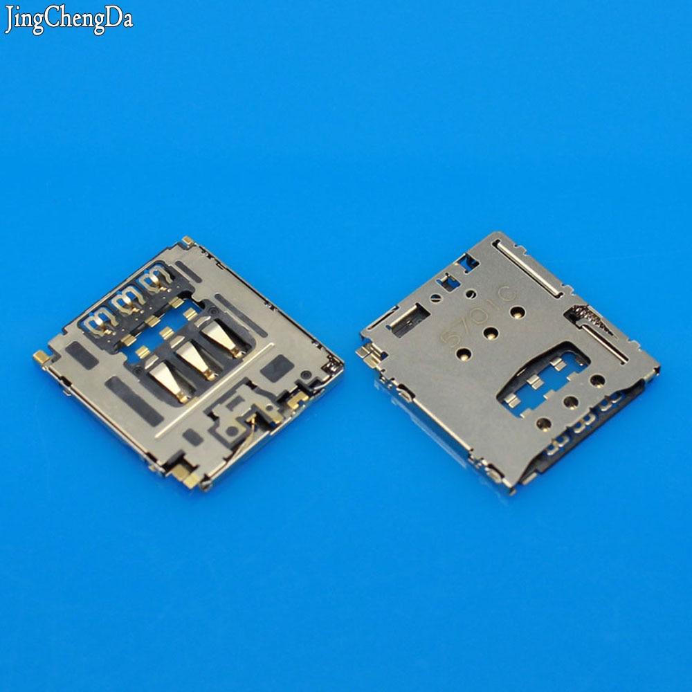 Jing Cheng Da New Big Sim card Reader Socket Tray Slot Holder For Blackberry Q5 Z30 / For Sony T3 M2 M50W D5102