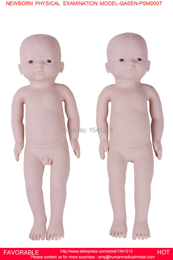 NEW BORN MANIKIN,BABY MANIKIN MODEL,BABY MODEL,ARTERIAL PUNCTURE SIMULATOR,NEWBORN PHYSICAL EXAMINATION MODEL-GASEN-PSM0007 child bone marrow puncture and femoral venous puncture model