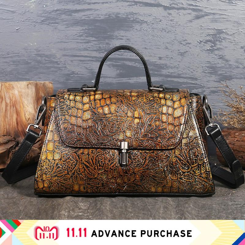 leopard luxury modis women bag genuine leather handbag shoulder purse 2018 bolsa feminina sac a main designer mujer clutch purse